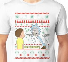 Rick and Morty Get Schwifty Christmas Design Unisex T-Shirt