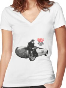 Jimmy's legend Women's Fitted V-Neck T-Shirt
