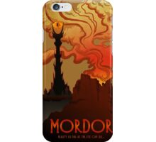 Mordor Travel iPhone Case/Skin