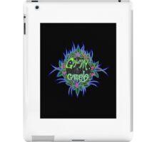 Galaxy Gardens logo iPad Case/Skin