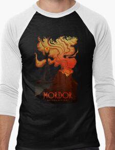 Mordor Travel Men's Baseball ¾ T-Shirt