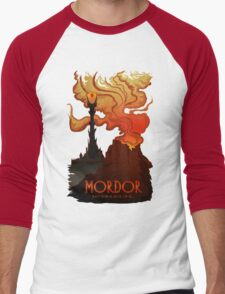 Mordor Travel Men's Baseball ¾ T-Shirt