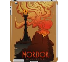 Mordor Travel iPad Case/Skin