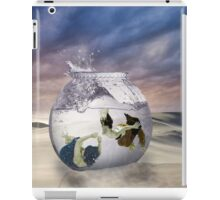 2 Lost Souls Living in a Fishbowl iPad Case/Skin