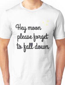 Northern downpour lyric art Unisex T-Shirt