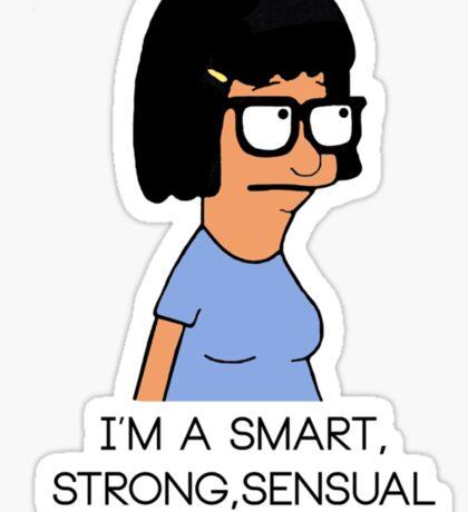 Tina Bob's Burger Sticker
