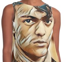 Alec Scudder Painting Contrast Tank