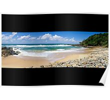 Coolum Beach - Queensland Australia - Panorama Poster