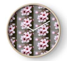 Spring Blossoms Clock