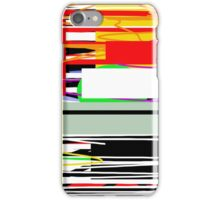 Lines and squares  iPhone Case/Skin