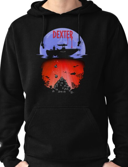 Dexter - Into the Bloody Depths Variant Pullover Hoodie