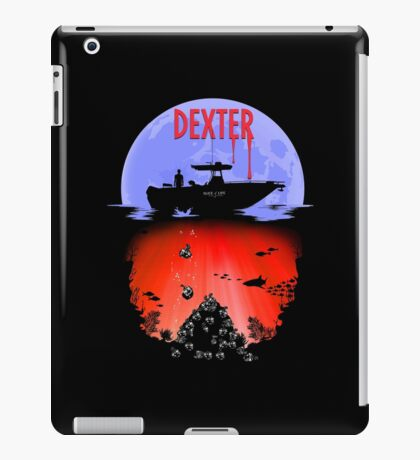 Dexter - Into the Bloody Depths Variant iPad Case/Skin