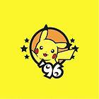 Video Game Heroes - Pikachu (1996) by Jarmez