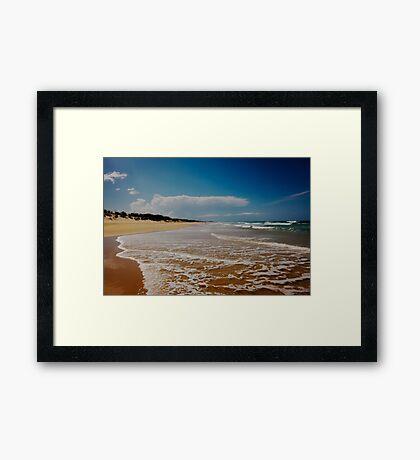 Marcus Beach - Queensland - Australia Framed Print