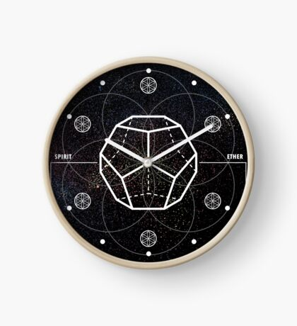 DODECAHEDRON-CONSCIOUSNESS Clock