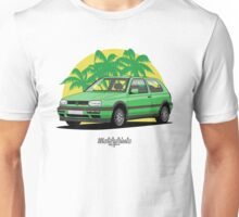 Volkswagen Golf 3 GTi (green) Unisex T-Shirt