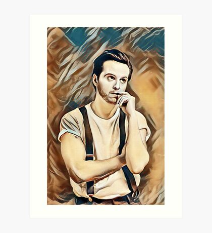 Andrew Scott Painting Art Print