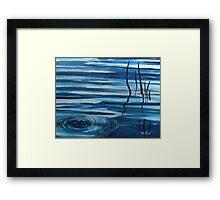 Reflections in still water Framed Print