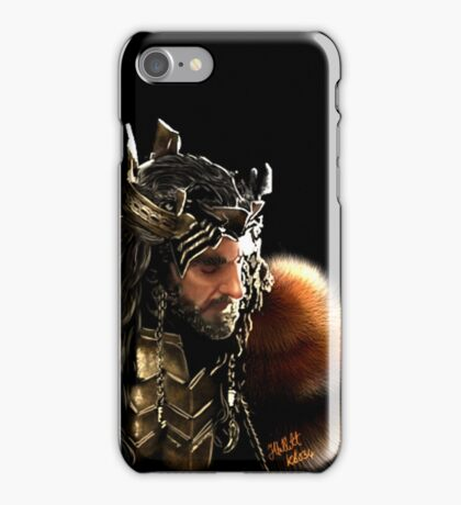 Thorin Oakenshield, King under the Mountain  iPhone Case/Skin