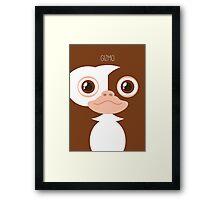 Gremlins Minimalist Series - Gizmo Framed Print