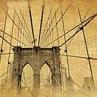 Brooklyn Bridge Postcard II by Jessica Jenney