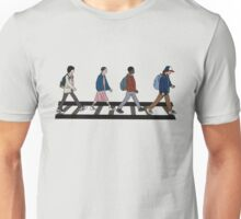 Stranger Abbey Road Unisex T-Shirt
