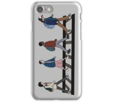 Stranger Abbey Road iPhone Case/Skin