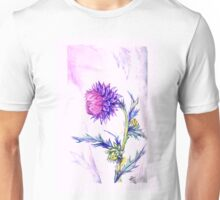 Thistle- Watercolor Unisex T-Shirt