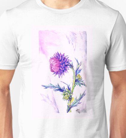 Thistle- Watercolor Unisex T-Shirt