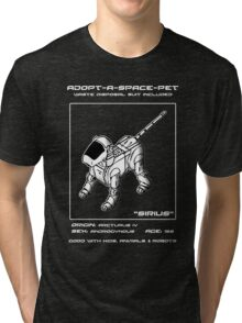 Adopt-A-Space-Pet Tri-blend T-Shirt