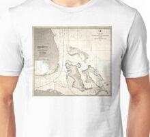United States - Atlantic coast - 1863 Unisex T-Shirt