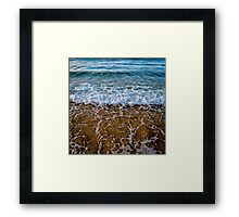 Noosa Beach - Queenland - Australia  Framed Print