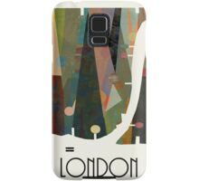 london city map abstract  Samsung Galaxy Case/Skin