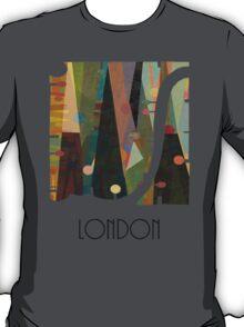 london city map abstract  T-Shirt