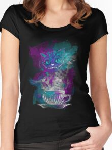 Cheshire's Tea Women's Fitted Scoop T-Shirt
