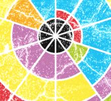 Crop Circle of Pi Sticker