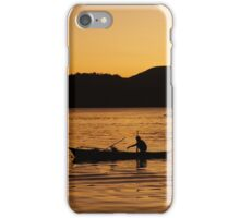 Tranquil Coron Philippines Fisherman iPhone Case/Skin