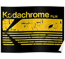 Vintage Photography: Kodak Kodachrome - Yellow Poster