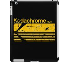 Vintage Photography: Kodak Kodachrome - Yellow iPad Case/Skin