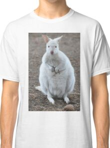 White Wallaby Classic T-Shirt