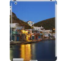 Klima village, Milos island iPad Case/Skin