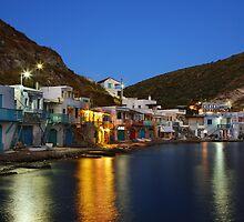 Klima village, Milos island by Hercules Milas