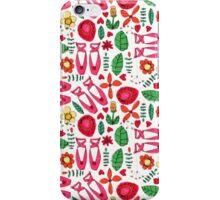 ballet scribble fleur iPhone Case/Skin