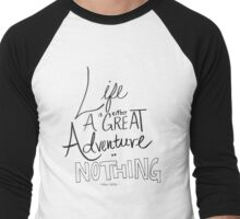 Great Adventure Men's Baseball ¾ T-Shirt
