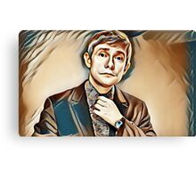 MArtin painting Canvas Print