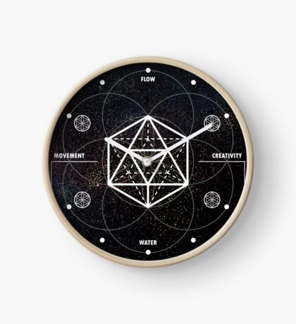 ICOSAHEDRON-CHANGE Clock