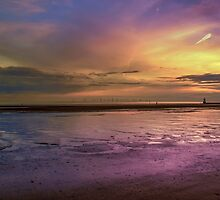 Crosby Beach - Liverpool by Paul Madden