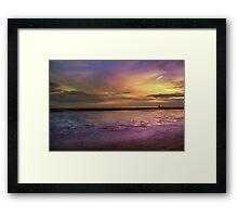 Crosby Beach - Liverpool Framed Print