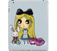 Cute Alice in Wonderland iPad Case/Skin