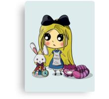 Cute Alice in Wonderland Canvas Print